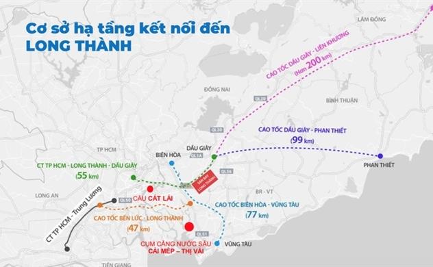 Hạ tầng được đầu tư tổng lực, Long Thành - Đồng Nai bứt phá thần tốc