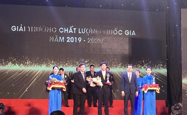 Nhựa Tiền Phong và Tiền Phong Nam cùng được tôn vinh trong lễ trao giải thưởng chất lượng Quốc gia 2019, 2020