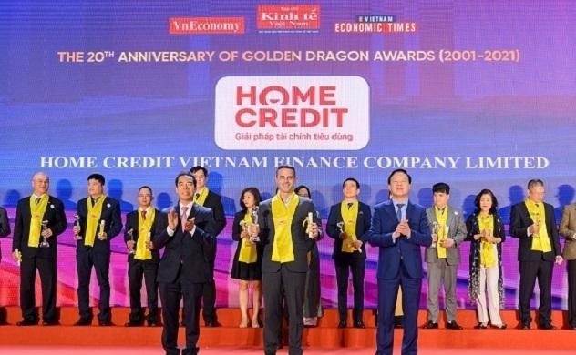 Home Credit đạt Giải thưởng Rồng vàng dành cho doanh nghiệp FDI tiêu biểu lần thứ 7