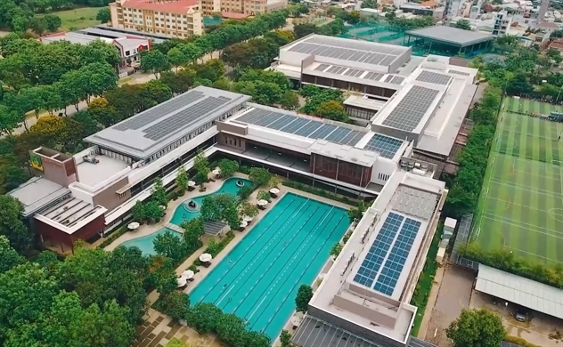 Khu phức hợp thể thao đầu tiên tại TP.HCM vận hành hoàn toàn bằng điện mặt trời
