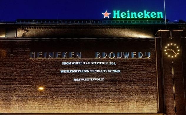 HEINEKEN đặt mục tiêu trung tính carbon trong sản xuất