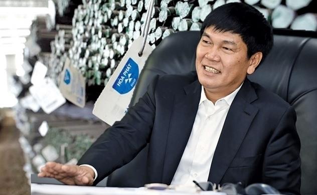 Tỉ phú Trần Đình Long lọt top 2 những tỉ phú giàu nhất Việt Nam