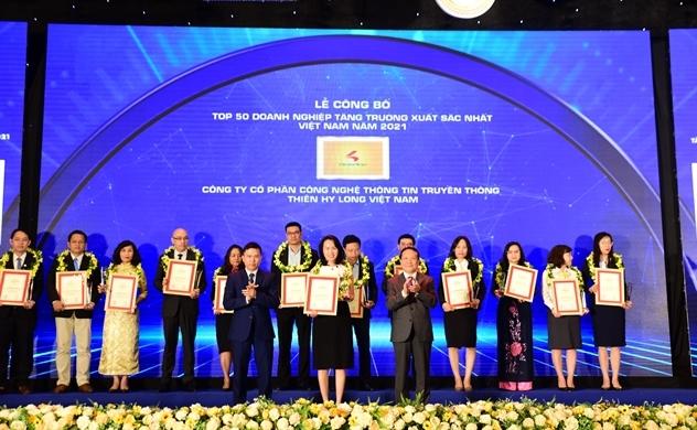 Chicilon Media lọt Top 500 doanh nghiệp tăng trưởng xuất sắc nhất Việt Nam năm 2021