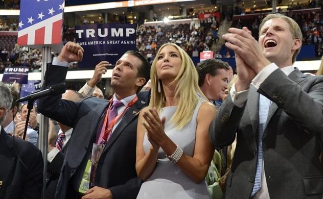 Mỹ chi 140.000 USD mỗi tháng bảo vệ con của cựu Tổng thống Trump