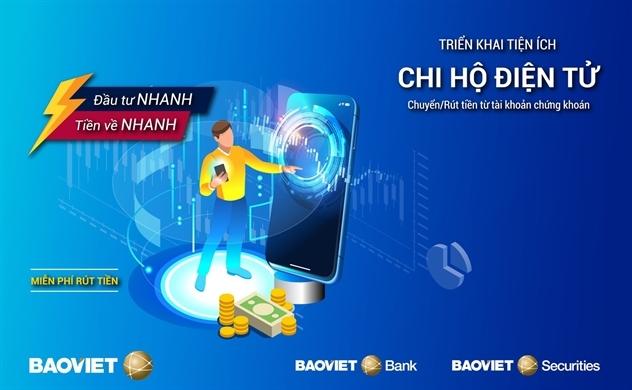 """Triển khai tiện ích thu chi hộ giữa BAOVIET Bank và BVSC: """"Đầu tư nhanh - Tiền về nhanh - Chuyển tiền miễn phí"""""""