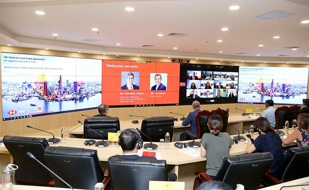 Hành lang kết nối thương mại giữa Vương quốc Anh và Việt Nam