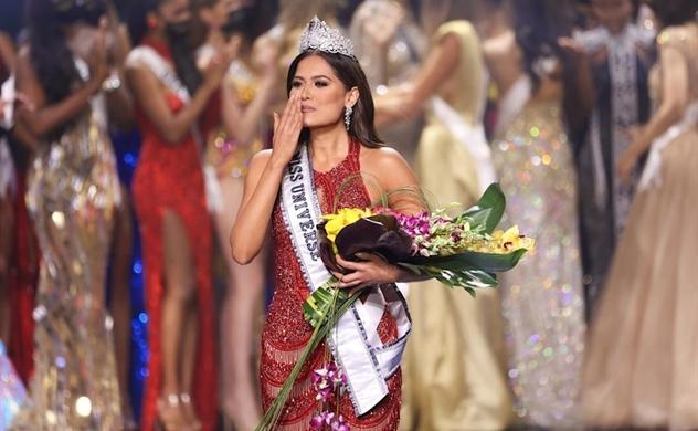 Người đẹp Mexico Andrea Meza đăng quang Hoa hậu Hoàn vũ 2021