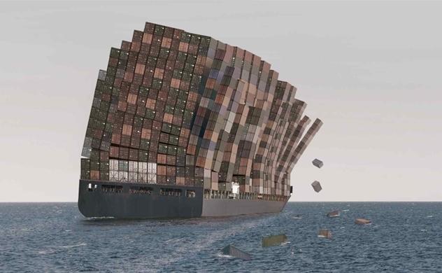 Sự hỗn loạn trong ngành vận chuyển toàn cầu