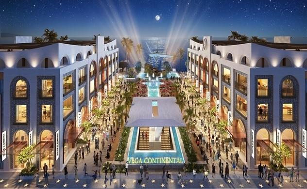 Tiểu khu Europe của Vega Continental Shopping Plaza - hòm châu báu của những cơ hội đầu tư