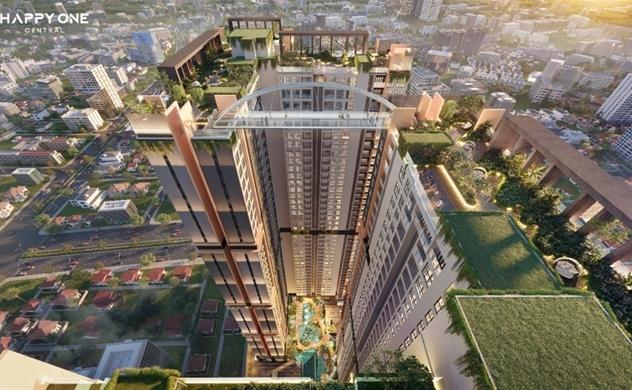 Chiêm ngưỡng căn hộ mẫu đẳng cấp của khu phức hợp căn hộ thông minh TT Thủ đầu một Happy One-Central