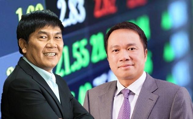 Giá trị tài sản của tỉ phú Trần Đình Long và Hồ Hùng Anh tăng mạnh