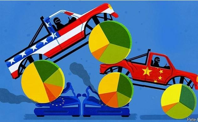 Cách Mỹ và Trung Quốc thống trị hoạt động kinh doanh toàn cầu