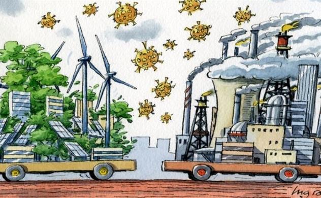 Khủng hoảng khí hậu làm thu hẹp các nền kinh tế G7 gấp đôi so với COVID-19