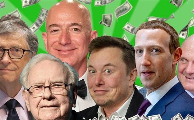 Tiết lộ thuế thu nhập của những tỉ phú giàu nhất thế giới