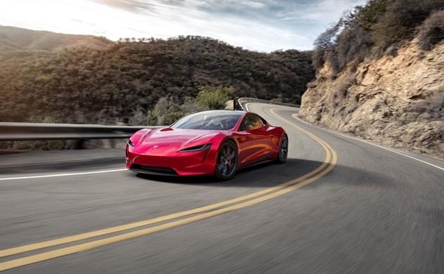 Tesla Roadster: Ôtô điện tăng tốc nhanh nhất thế giới