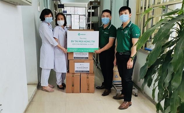 MERAP trao tặng hàng chục ngàn dược phẩm, trợ lực hữu hiệu cho lực lượng y tế tuyến đầu