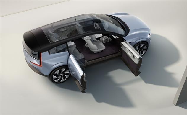 """Volvo ra xe điện """"mẫu"""" cho tương lai"""