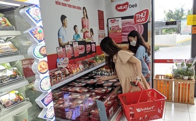 Gần 500 cửa hàng VinMart+ tại TP. HCM tăng nguồn cung thịt heo sạch MEATDeli phục vụ người tiêu dùng