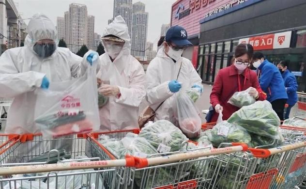 Cách Trung Quốc nuôi sống chục triệu dân trong thành phố phong tỏa