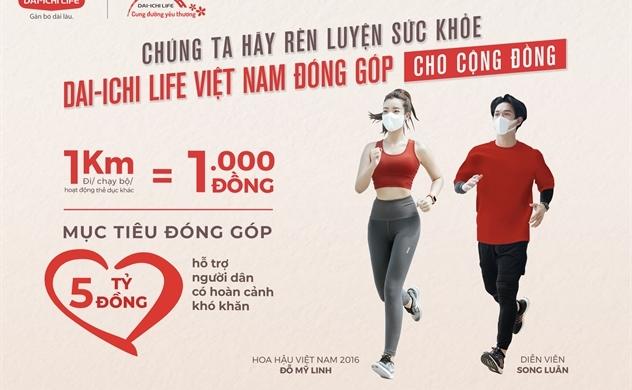 """Dai-ichi Life Việt Nam ra mắt giải đi/chạy bộ trực tuyến vì cộng đồng """"Dai-ichi-cung đường yêu thương 2021"""""""