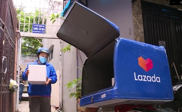 Lazada miễn phí vận chuyển 100% cho tất cả các đơn hàng thiết yếu trên toàn địa bàn TP.HCM