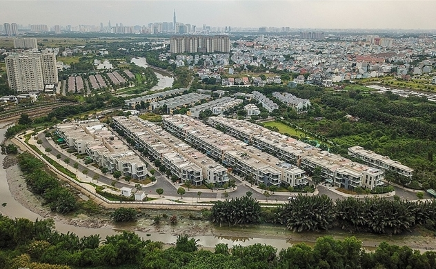 HCMC land prices for townhouses reaches $5,700 per sq.m