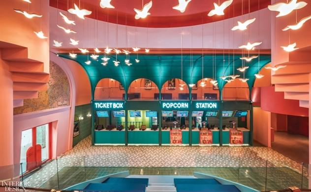 Rạp chiếu phim Beta Cinema Sài Gòn được vinh danh trên tạp chí kiến trúc nội thất quốc tế