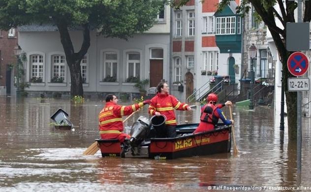 Nguyên nhân khiến Đức hứng lũ lụt lịch sử giữa mùa hè