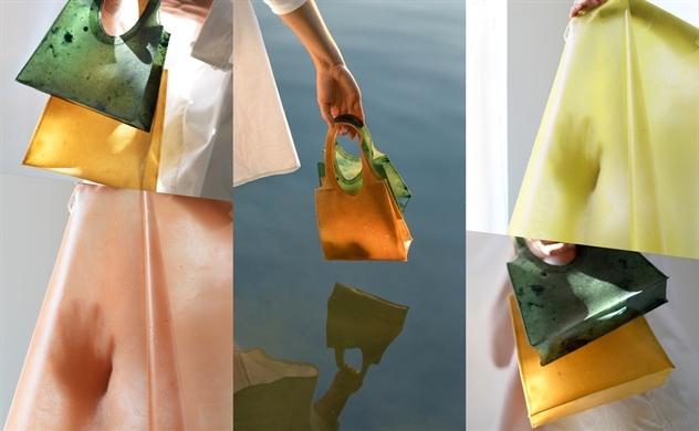 Túi làm từ vỏ trái cấy có thể làm phân bón