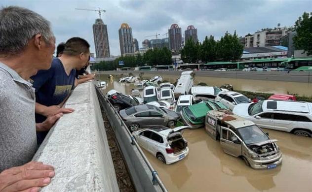 Trận mưa lớn nhất Trung Quốc trong 1.000 năm, dẫn đến lũ lụt kinh hoàng