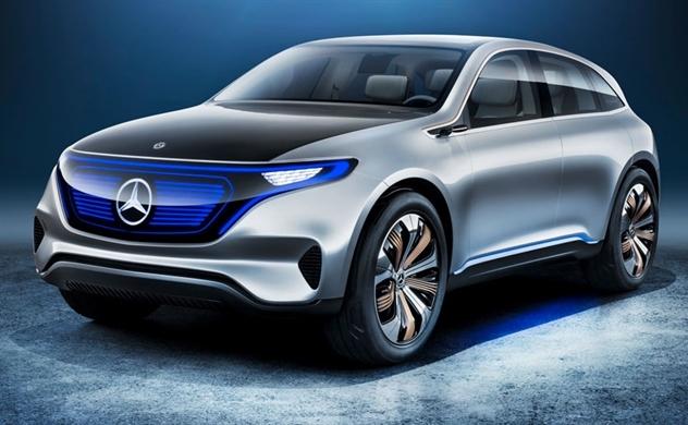 Mercedes-Benz tăng tốc trong cuộc đua xe điện