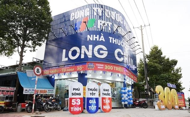 Nhà Thuốc Long Châu chiếm 15% doanh thu hợp nhất của FPT Retail