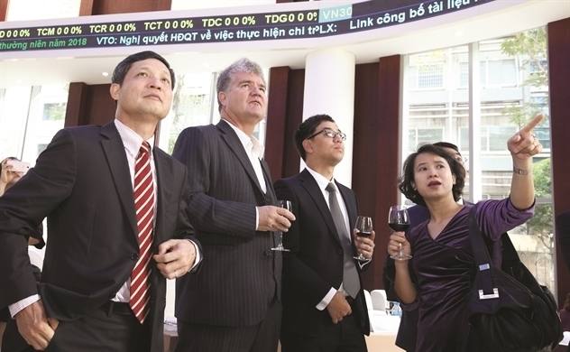 Chứng khoán Việt giảm mạnh khối ngoại đẩy mạnh mua ròng