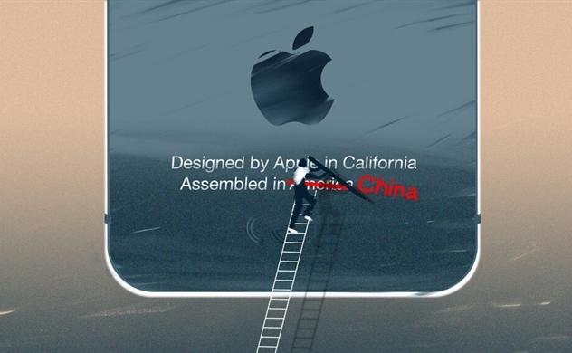 """Những chiếc iPhone được sản xuất trên đất Mỹ, một """"giấc mơ xa vời""""?"""