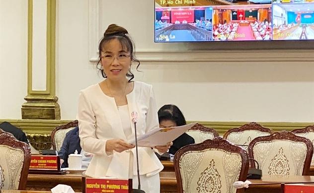 Nữ tỷ phú Nguyễn Thị Phương Thảo: Hãy tin tưởng ở doanh nghiệp tư nhân trong các chương trình thúc đẩy phục hồi sau đại dịch