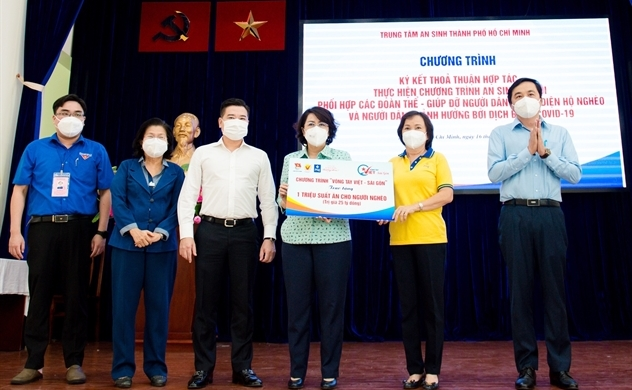 Tập đoàn Hưng Thịnh tiếp tục góp 10 tỉ đồng hỗ trợ triệu suất ăn cho người nghèo
