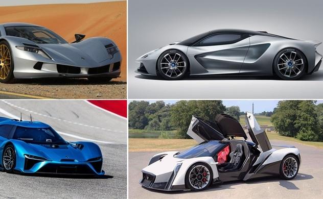 Giới sản xuất ô tô tại Mỹ đẩy mạnh phát triển siêu xe chạy điện
