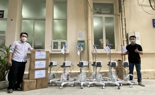 Quỹ đầu tư quốc tế SPG và các công ty thành viên trao tặng tổng số 100 máy thở oxy dòng cao