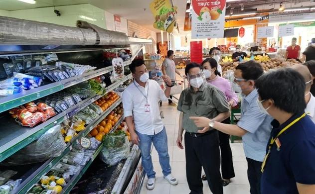 Thủ tướng: TP.HCM phải đảm bảo lương thực, thực phẩm để dân yên tâm ở nhà