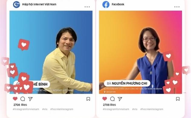"""Hiệp hội Internet Việt Nam phối hợp cùng Facebook tổ chức """"Học viện Instagram"""""""