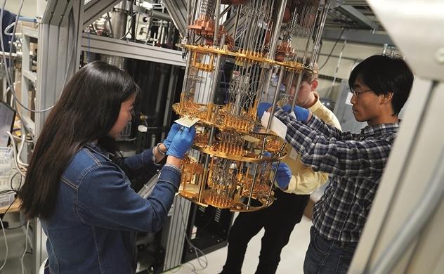 Máy tính lượng tử: Cỗ máy đến tương lai