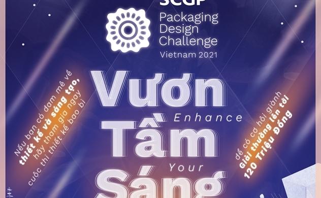 Chính thức khởi động cuộc thi thiết kế bao bì SCGP Packaging Design Challenge Việt Nam 2021