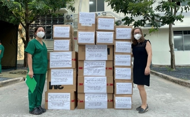 Unilever Việt Nam tiếp tục hỗ trợ sản phẩm chống dịch cho TP.HCM với tổng giá trị hơn 10 tỉ đồng
