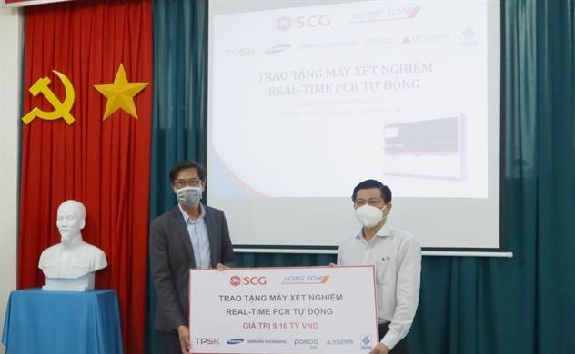 SCG và Công ty TNHH hóa dầu Long Sơn hỗ trợ hệ thống xét nghiệm cho Tỉnh Bà rịa – Vũng Tàu