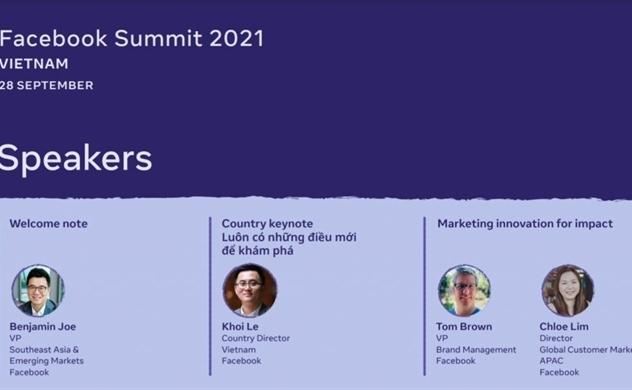 Facebook Summit 2021: Thương mại Khám phá và Giải pháp Nhắn tin dành cho doanh nghiệp