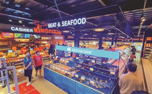 New Retail để bán cá, tôm