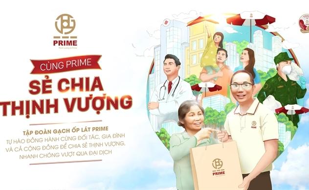"""""""Cùng PRIME sẻ chia thịnh vượng"""" hỗ trợ cộng đồng phục hồi sinh kế sau đại dịch"""
