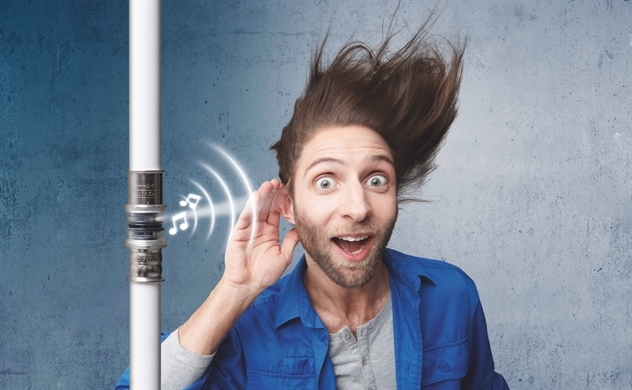 Wavin ra mắt phụ kiện ống nước đầu tiên phát cảnh báo rò rỉ bằng âm thanh