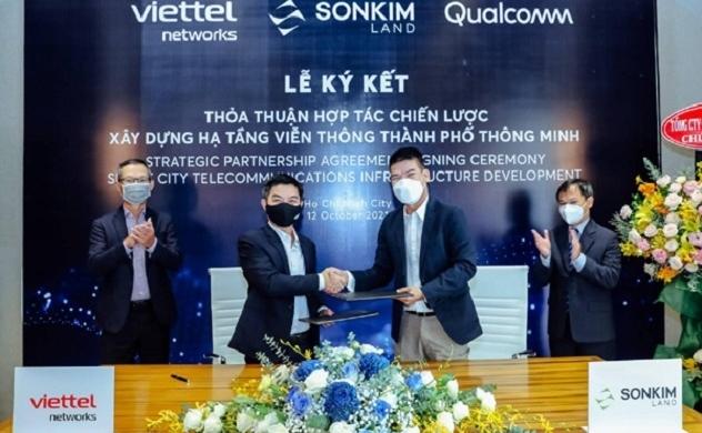 SonKim Land và Viettel Networks hợp tác triển khai hạ tầng viễn thông tại các dự án Thành phố thông minh