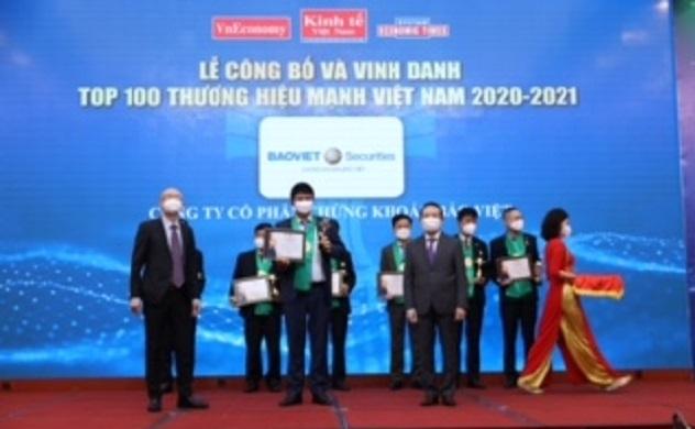 Chứng khoán Bảo Việt năm thứ 7 liên tiếp nằm trong